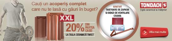 Promotie tigla ceramica Tondach mai 2015